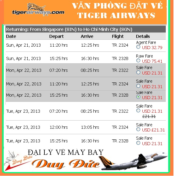 Phong Ve May Bay Tiger Airways 14jan