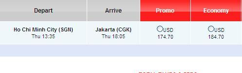 Đặt Ngay Vé Rẻ đến Jakarta Chỉ 174 USD