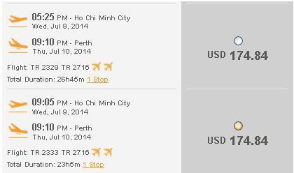 Đặt Ngay Vé Rẻ đến Perth Chỉ 174 USD