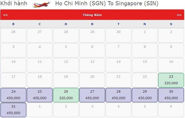 Đặt Vé đi Singapore Hãng Vietjet Chỉ 320.000 VNĐ