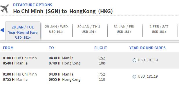 Đến Hồng Kông Du Lịch Với Giá Vé 181 USD