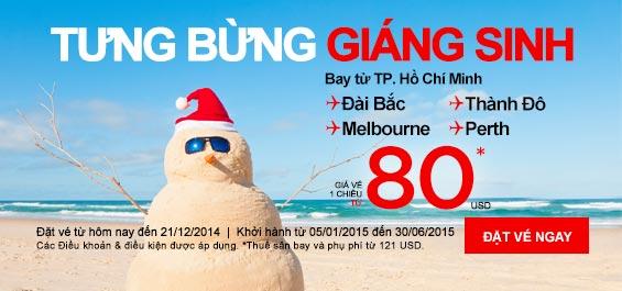 Đến Melbourne tận hưởng không khí Noel chỉ 80 USD