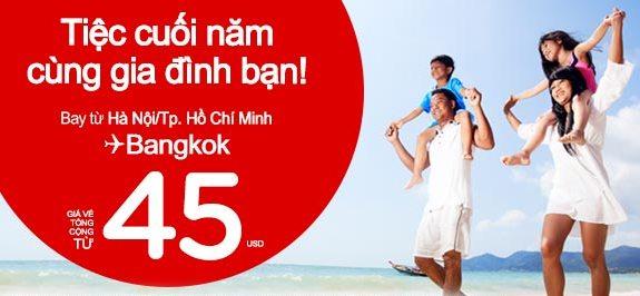 Đón Giao Thừa Tại Bangkok Với Vé Rẻ Chỉ 45 USD