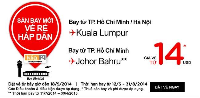 Du Lịch Kuala Lumpur Giá Rẻ 14 USD