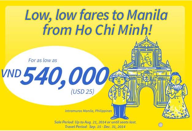 Du Lịch Manila Cực Rẻ Với Vé Khuyến Mãi 25 USD