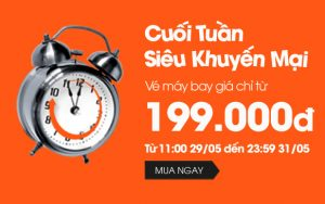 Jetstar tung vé rẻ đi Buôn Mê Thuột 199,000 VNĐ