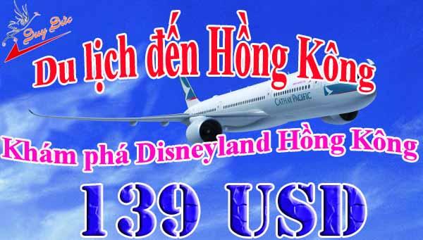 Hướng Dẫn Cách đặt Vé đi Hồng Kông 139 USD