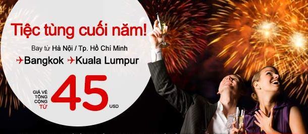 Hướng Dẫn Mua Vé Rẻ đi Bangkok Nhanh Chỉ 45 USD