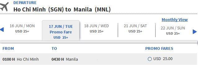 Hướng Dẫn Nhanh đặt Vé Rẻ đi Cebu 25 USD