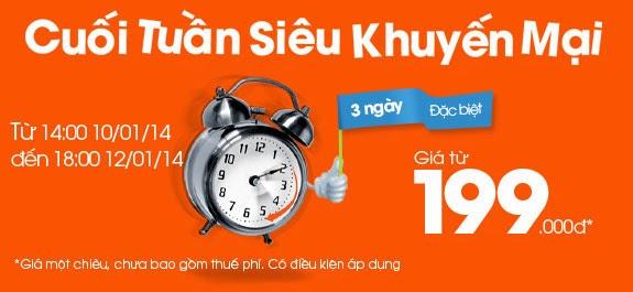 Jetstar Tung Vé Sài Gòn đi Hà Nội 199,000 VNĐ