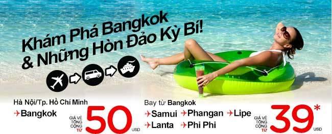 Đi Bangkok Và Khám Phá Các Hòn đảo Kỳ Bí Chỉ 50USD