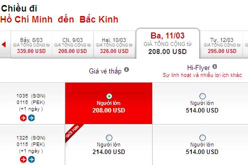 Làm Cách Nào Mua được Vé đi Bắc Kinh Giá Rẻ 208 USD