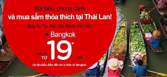Làm Thế Nào đặt được Vé Rẻ đến Bangkok 19 USD