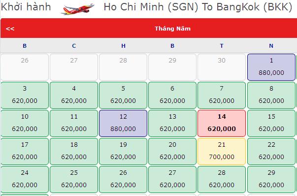 Làm Thế Nào đặt Vé Bangkok 620.000 VNĐ