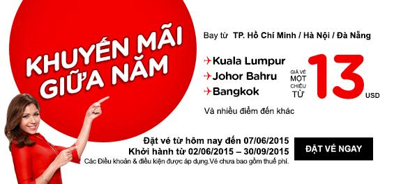 Chớp Lấy Vé Rẻ đi Bangkok Hè 13 USD