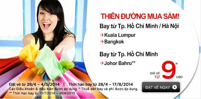 Mua Ngay Vé Rẻ đến Johor Bahru Chỉ 9 USD