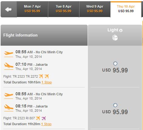 Mua Ngay Vé Rẻ đến Jakarta Chỉ 95 USD