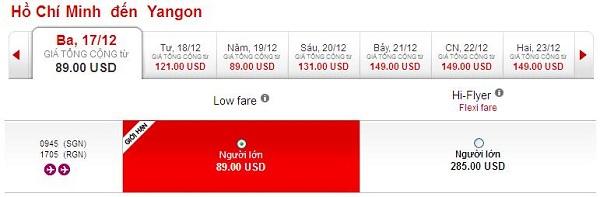 Mua Vé Du Lịch Yangon Chỉ 89 USD