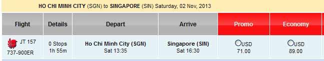 Muốn đặt vé đi Singapore rẻ chỉ 71 USD thì làm sao