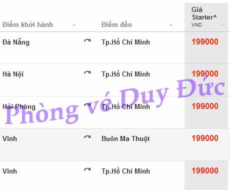 Nhanh Tay đặt Vé Khuyến Mãi Jetstar 199,000 VNĐ