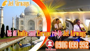 Vé Máy Bay đi India And Europe Rẻ Từ Jet Airways