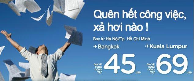 Thư Giãn Cuối Năm Du Lịch đến Bangkok Chỉ 45 USD