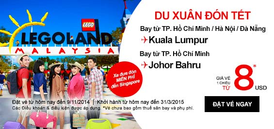 Tìm Hiểu Malaysia Với Vé Rẻ đến Kuala Lumpur 8 USD