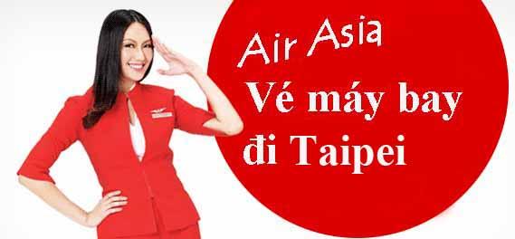 Vé Máy Bay Air Asia đi Taipei
