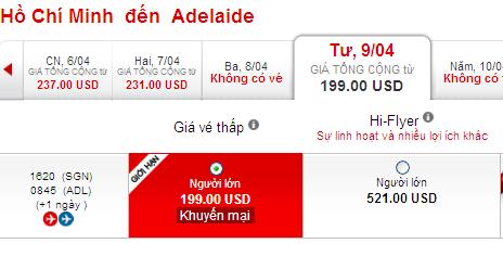 Vé Máy Bay đến Adelaide Khuyến Mãi 199 USD