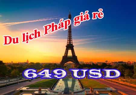 Vé Máy Bay đi Paris Hãng Air France Giá Rẻ 649 USD