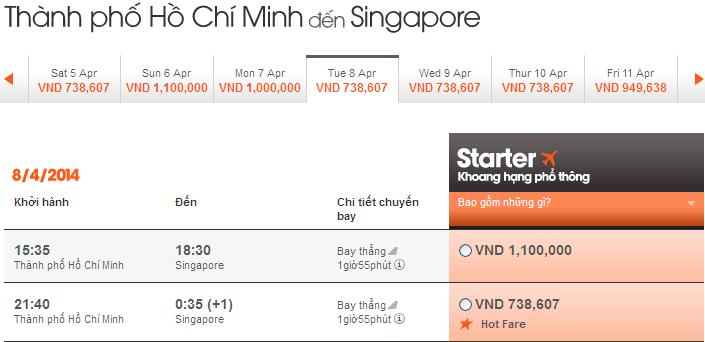 Ve May Bay Di Singapore Jetstar 01mar14