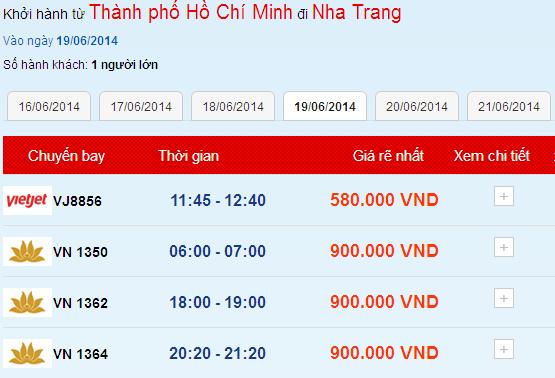 Ve May Bay Gia Re Du Lich Nha Trang 06mar14