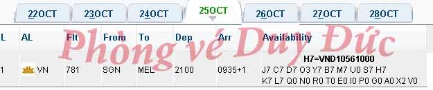 Vé Máy Bay Vietnam Airlines đi Melbourne