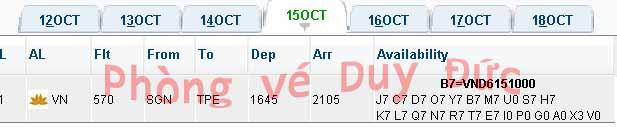Vé Máy Bay Vietnam Airlines đi Taipei