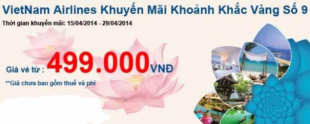 Vietnam Airlines Tung Vé Khoảnh Khắc Vàng 9