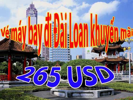 Mua vé đi Đài Loan du lịch chỉ 265 USD làm thế nào
